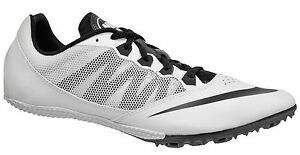 New Nike Zoom Rival S 7 Mens Track & Field Spikes Sprint Running Shoes White NS