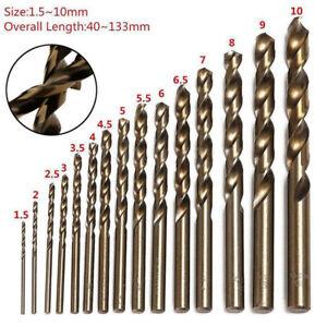15Pcs-High-Speed-Steel-HSS-Co-5-M35-Cobalt-Drill-Bit-Set-1-5-10MM-Steel-Pounch