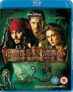 Pirates-Of-The-Caribbean-Dead-Man-039-s-Chest-Blu-ray-Very-Good-DVD