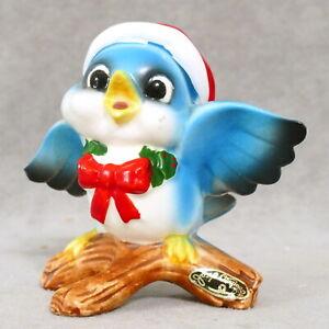Miniature-Figurine-Christmas-JOSEPH-ORIGINALS-Baby-Blue-Bird