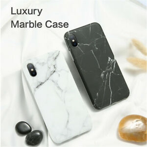 Luxury-Soft-Phone-Case-Marble-Pattern-iPhone-6-6sPlus-7-8-Plus-Xs-X-Max-Silicone