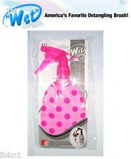"The Wet Brush "" Wet Spray ""Clean, Green, soft  Water Spray Bottle  (pink dot)"
