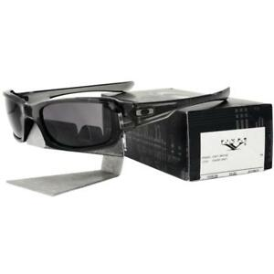 ea6d7f76000 Oakley OO 9238-05 FIVES SQUARED Grey Smoke Warm Grey Lens Mens Rare ...