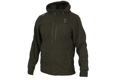 New Fox Green Silver Collection Wind blocker Hoodie Zipped Jacket Hoody  Fishing