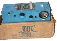 Mac 6300d-511 Control Valve Air Remote Pilot Base Only 1/2in Npt
