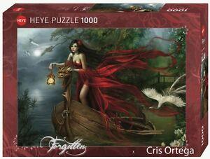 CRIS ORTEGA - SWANS - Heye Puzzle 29389 - 1000 Teile Pcs.