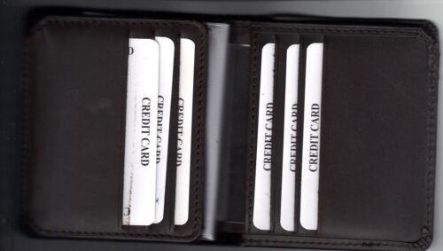 Florida Miami-Dade Sheriff/'s Office Bureau Commander Tri-Fold money//CC Wallet