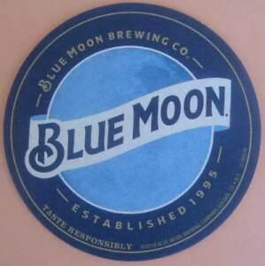 BLUE-MOON-TASTE-RESPONSIBLY-Beer-COASTER-Mat-COLORADO-2018-issue