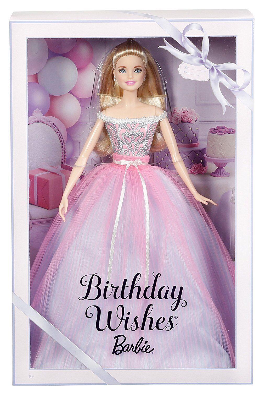 BARBIE BIRTHDAY WISHES WISHES WISHES 2018 DVP49 MATTEL -nuovo-italia 008047