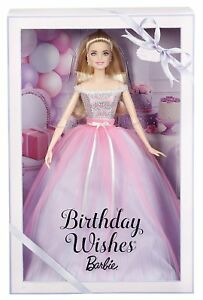 BARBIE BIRTHDAY WISHES 2018 DVP49 MATTEL -nuovo-italia