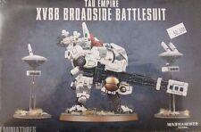 Warhammer 40K TAU EMPIRE XV88 BROADSIDE BATTLESUIT & drones, new
