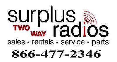 Surplus Two Way Radios
