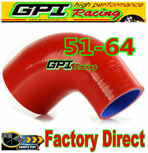 RED-2-034-2-5-034-51mm-to-64mm-Silicone-90-Degree-Elbow-Reducer-Pipe-Hose-INTERCOOLER