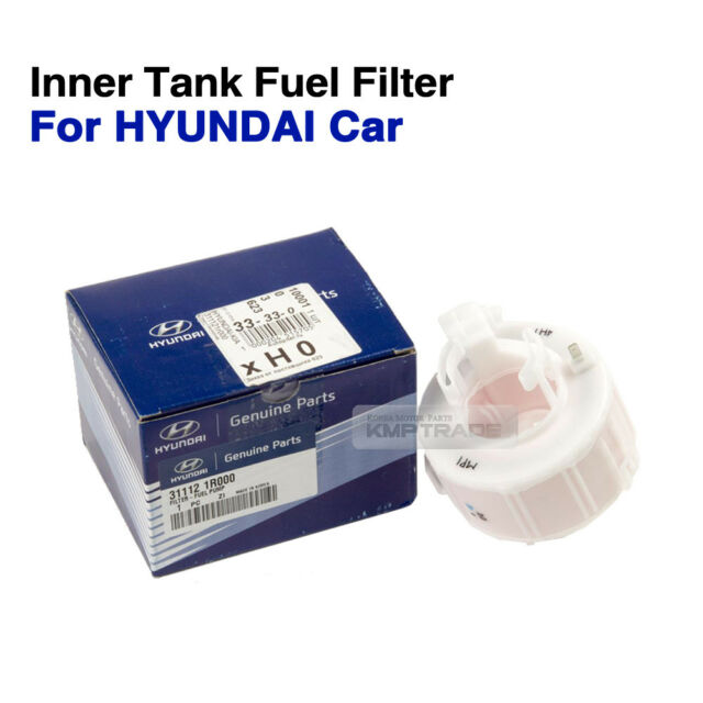 made in korea fuel filter for hyundai accent 31112 1r000 31112oem parts 311121r000 inner tank fuel filter pump for hyundai car