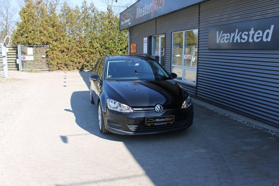 VW Golf VII 1,6 TDi 110 BlueMotion Variant Diesel modelår