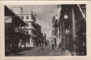 Postcard-RPPC-Prince-Fareuk-St-Port-Said-Egypt