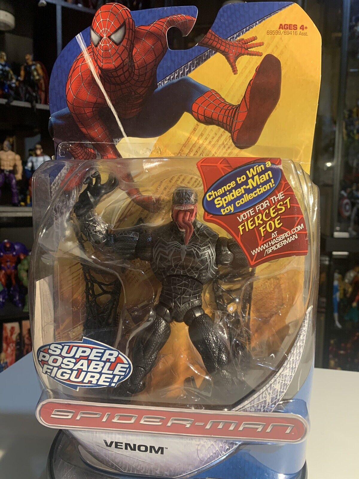 primera reputación de los clientes primero Venom Hasbro 2007 The Amazing Spider-Man Seminuevo Embalaje dañado dañado dañado  promociones de descuento