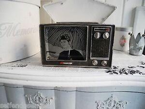 radio retro old polyresin antik look alt deko vintage nostalgie 792 ebay. Black Bedroom Furniture Sets. Home Design Ideas