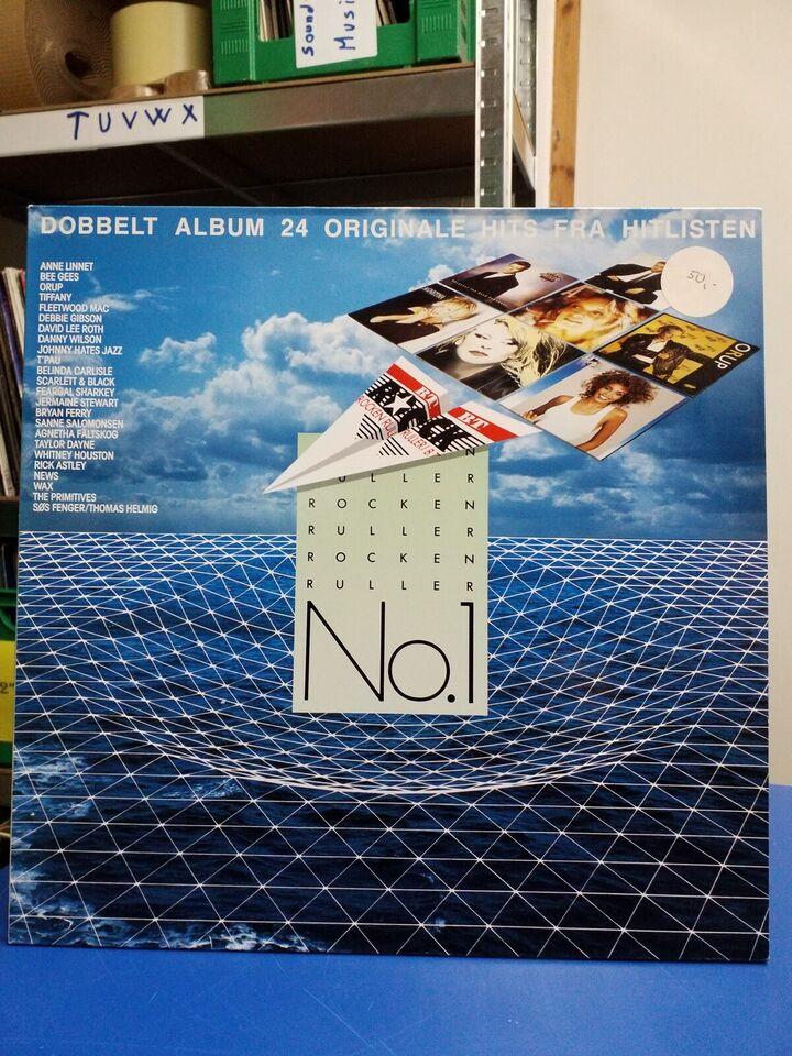 LP, DOBBELT ALBUM 24 ORIGINAL HITS FRA HITLISTEN, Dobbelt