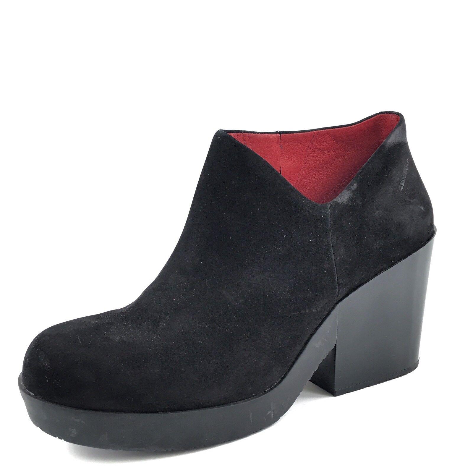 Camper Womens Black Suede Platform Ankle Boots Women's Size 10 M RP  240
