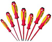 Knipex Witte Maxxpro Insulated 7pc Screwdriver Set 1000v 9t653746