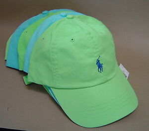 dadfe0b0d NWT POLO RALPH LAUREN One Size CHINO SPORTS CAP PONY Baseball Golf ...