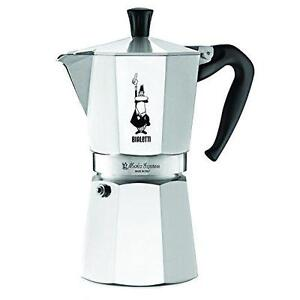 The Original Bialetti Moka Express Made in Italy 9-Cup Stovetop Espresso Maker eBay