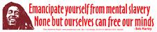 "Bob Marley Reggae Rasta ""Emancipate Yourself.. – Bumper Sticker / Decal"