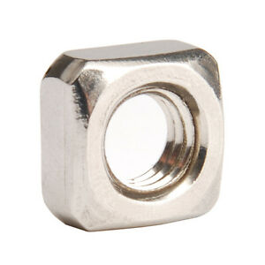 Bolt Base A2 Stainless Steel Hex Full Nuts M2 X 0.4mm Pitch 5