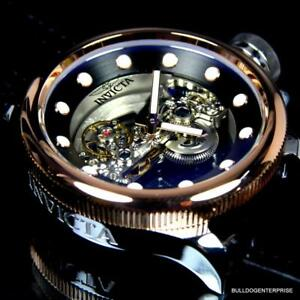 Invicta Russian Diver Ghost Bridge Automatic Rose Gold Plated 52mm Watch New