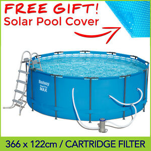 Bestway Steel Pro Max Above Ground Swimming Pool 12ft 3