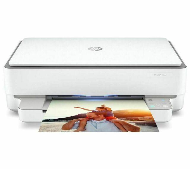 HP ENVY 6032 All in One Wireless Inkjet Printer WiFi Double Sided - Currys