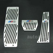 For BMW E30 E36 E46 E87 E90 E91 E92 E93 M-Tech AT Foot Rest Pedals Set Aluminum
