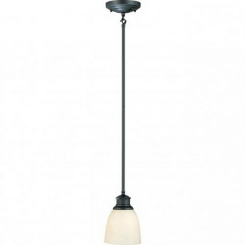 Nuvo 60//2785 Bella 1 Light Aged Bronze Mini Pendant