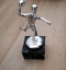 Indexbild 1 - Handball Spieler Pokal in Silber Farbe auf Marmorsockel - Metall