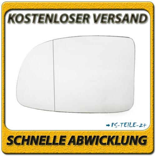 Spiegelglas für KIA CARENS III 2006-2012 links Fahrerseite asphärisch