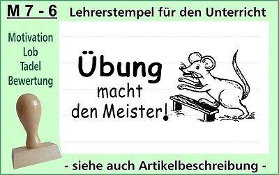 Lehrerstempel Stempel Schule Lehrer Belobigungsstempel  M 11-6