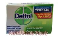 10 X 110g Dettol Soap Bar Skin Care Fight Germs Anti Bacterial Cleanses Fair