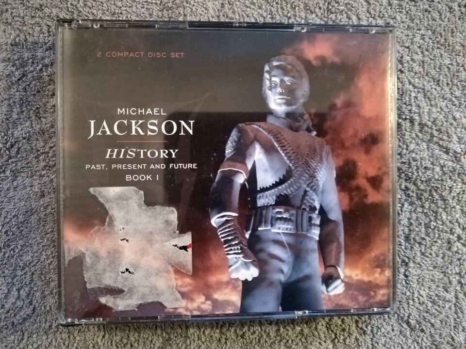 Michael Jackson: History GULD CD'er, pop
