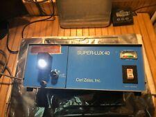 Carl Zeiss Super Lux 40 Light Source Fiber Optic Illuminator