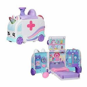Kindi KIDS Hospital Corner Unicorn Ambulance Hospital Inc Playmat-New & Sealed