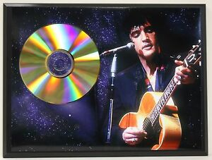 ELVIS-PRESLEY-B-Limited-Edition-24kt-Gold-CD-Poster-Art-Display-Free-Shipping