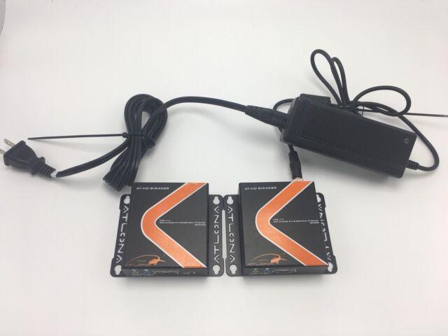 Direct Connect DCC5HIR-1 HDMI Cat5e// Cat6 Extender Balun Kit With IR 3D EDID 2D