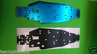 Associated Rc10gt2 Chassis Protector Black Carbon Fiber Look Chassis Skin