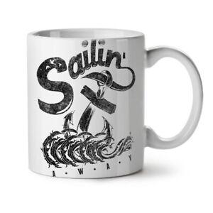 Sailing Navy Sea NEW White Tea Coffee Mug 11 oz | Wellcoda
