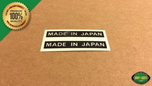 Kuwahara Apollo - Standard Made In Japan BMX Decal Stickers 1 Pair etc.