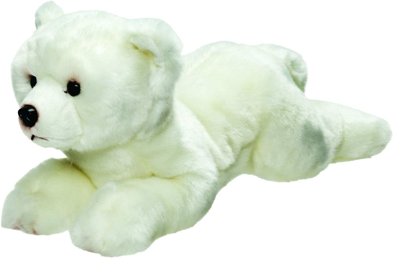 Suki Gifts 12122 Polar Bear Lying Soft Toy, 30 cm, Suki Classic, 30