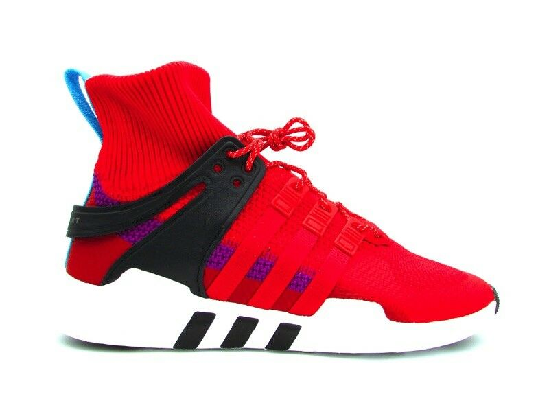 ADIDAS EQT SUPPORT ADV WINTER SNEAKERS red BIANCO black BZ0640