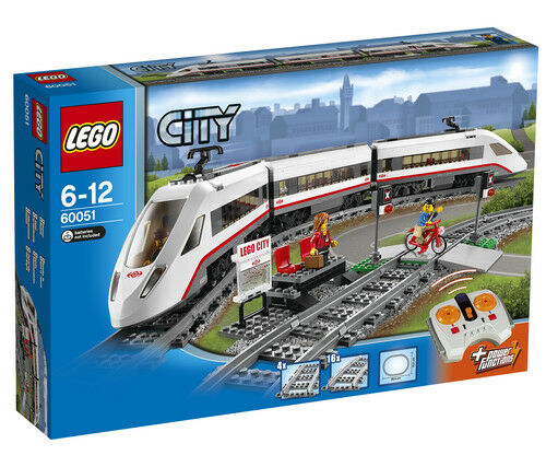 LEGO CITY 60051 HIGH SPEED PASSENGER TRAIN SEALED BOX BOX BOX 06506a