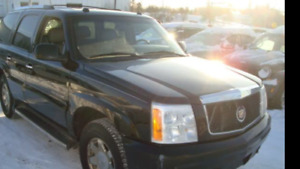 2004 Cadillac Escalade in Excellent condition, only 128,000 km